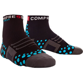 Compressport ProRacing Run High Socks black/blue